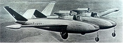 "The Fouga C.M. 88R ""Gemeaux""."