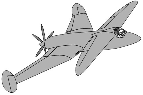 Miles' proposal for a Fleet fighter in 1942
